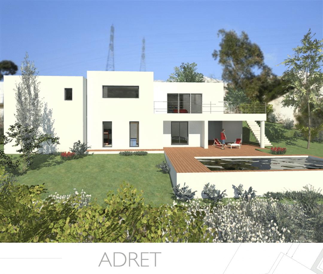 Constructeur maison moderne en paca provence architecture for Constructeur de maison albi
