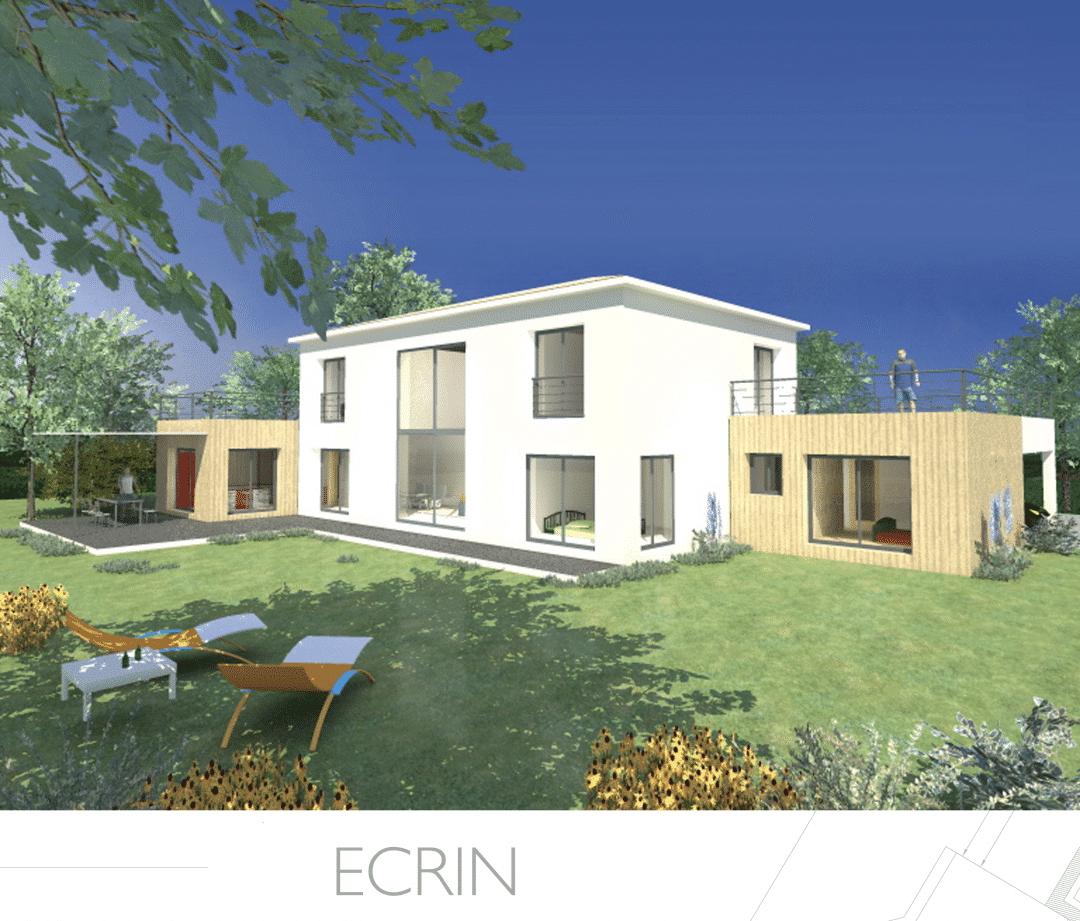 Constructeur maison moderne en paca provence architecture for Maison de constructeur moderne