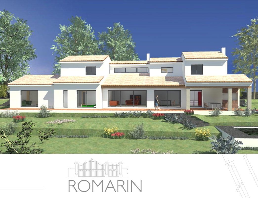 Excellent romarin with maison provencale for Maison de repos la provencale