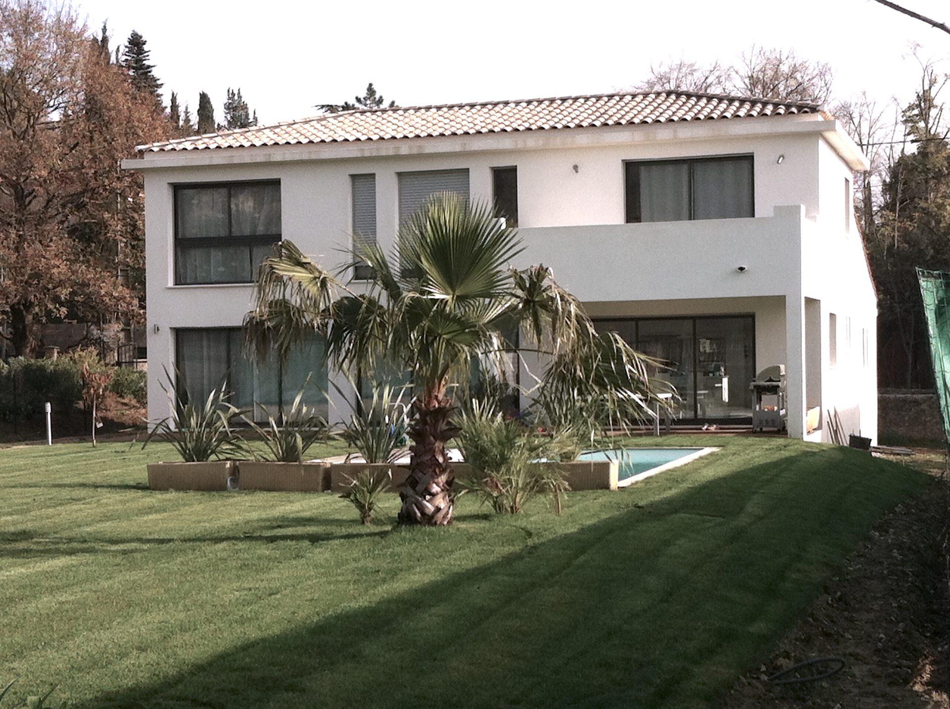 Votre maison contemporaine provence architecture - Maison contemporaine fougeron architecture ...
