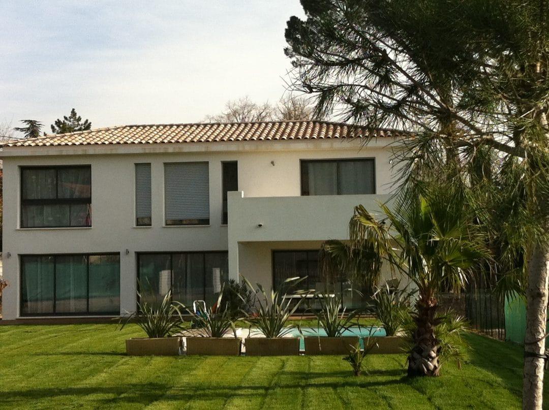 Constructeur maison contemporaine marseille maison moderne for Constructeur de maison contemporaine