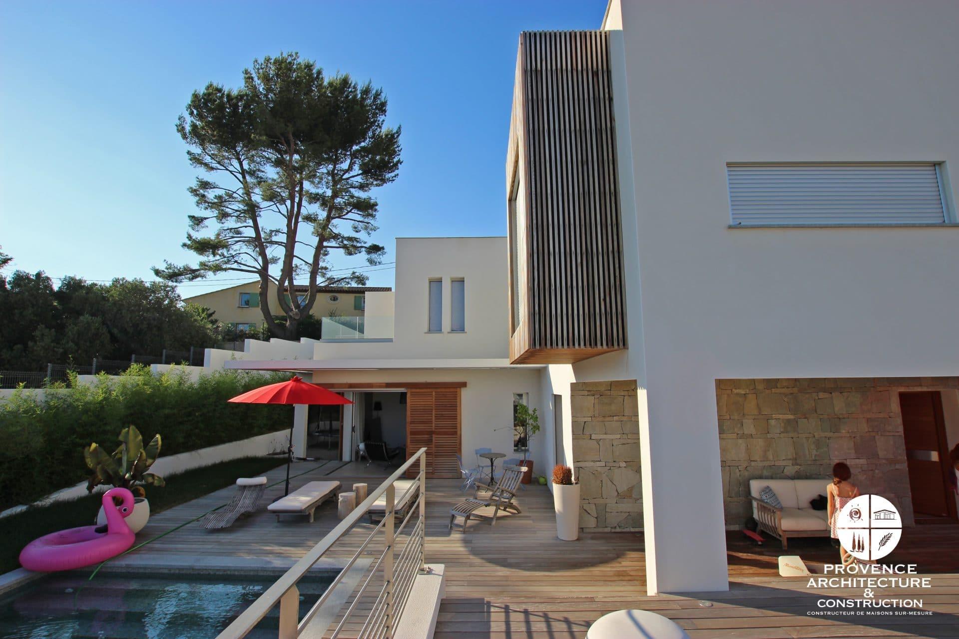 Constructeur De Maison Marseille maison contemporaine à marseille - provence architecture