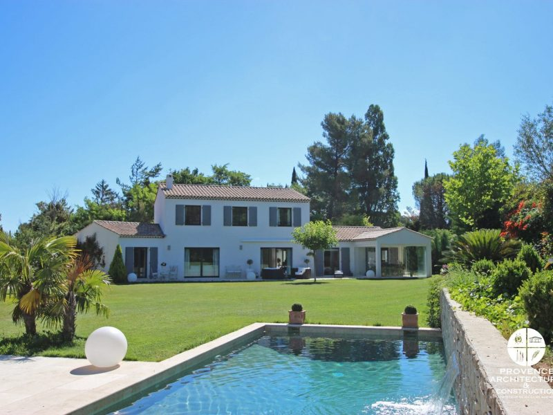 Maison traditionnelle Aix en Provence