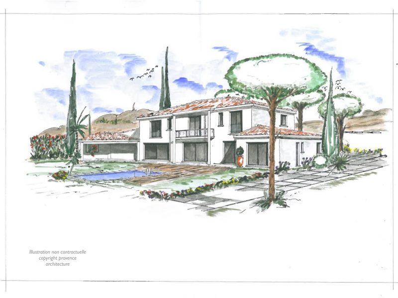 esquisse provence architecture_07